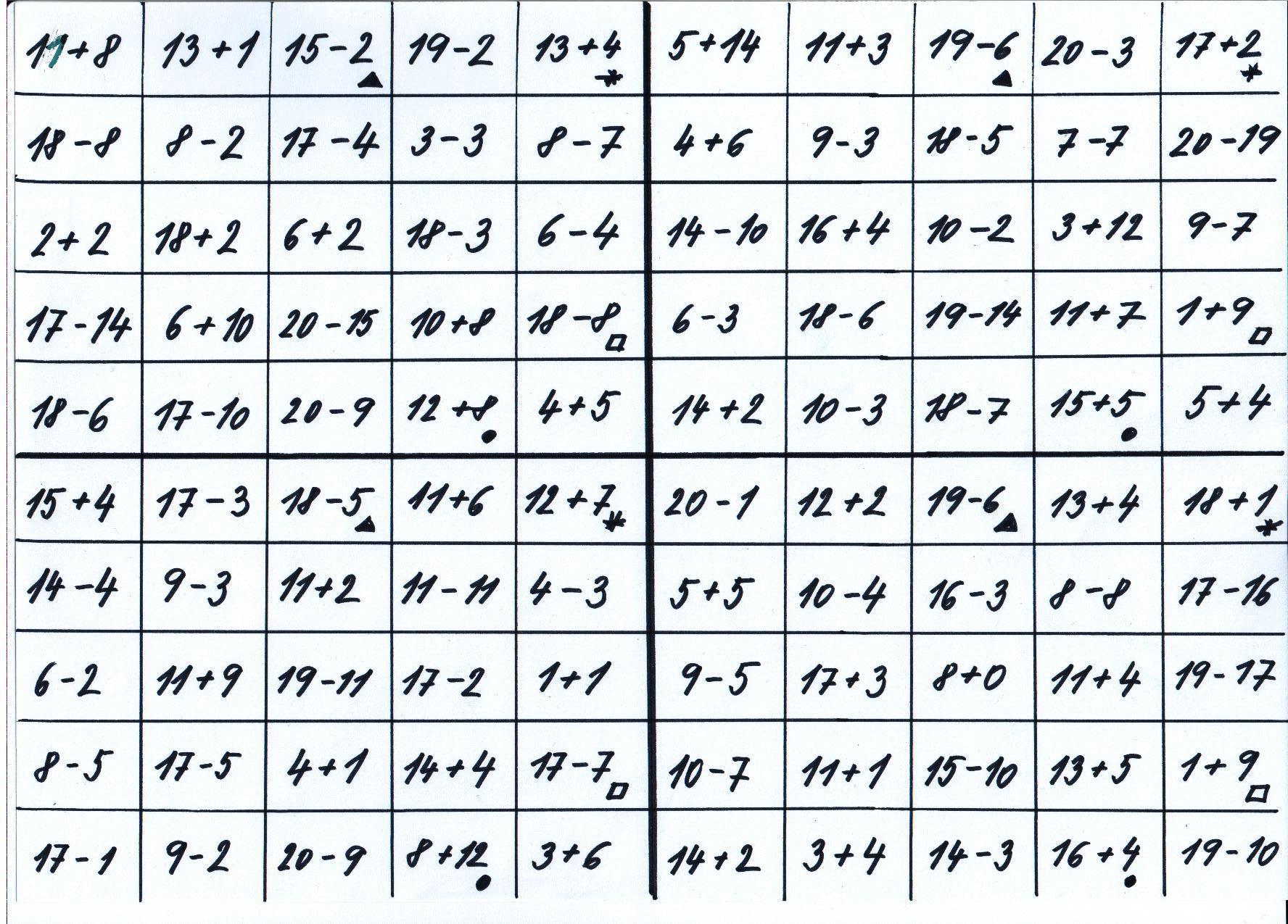 Matematicke Loto Skolaci Com Pro Rodice A Ucitele Skolaci Com
